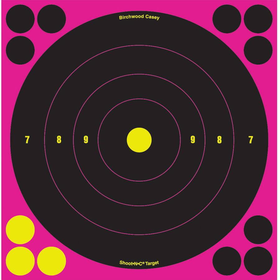 """Birchwood Casey Shoot-N-C Targets: Bull's-Eye 8"""" Bull's-Eye (Per 500)"""