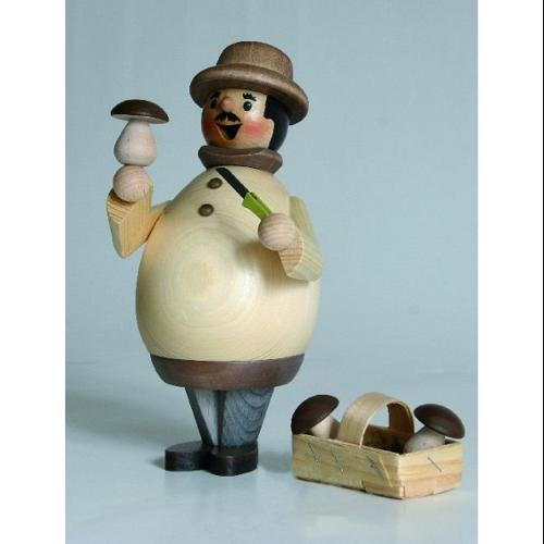 Happy Mushroom Collector German Incense Smoker