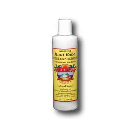 Amazing Maui Babe Browning Lotion (Amazing Maui Babe Tan Enhancer, 8 Fl Oz )