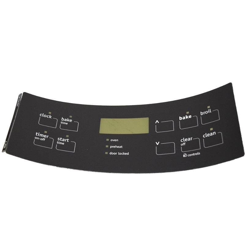 316419141 ELECTROLUX FRIGIDAIRE Range control overlay