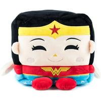 "Kawaii Cube Plush, 8"", Wonder Woman"