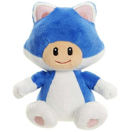 Super Mario Series 1-6 Cat Toad Plush (Girl Toad Mario)