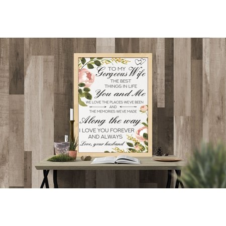 Floral Love Quotes Message Signs, Message Boards, Love Sign, Message Board Valentine's Day, Love Quotes, Gift Ideas For Couples, Valentines Day, Wife Quotes, Gifts for her, Size -