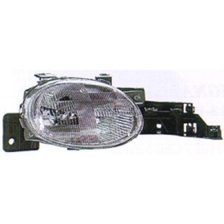 Go-Parts » 1995 - 1999 Dodge Neon Front Headlight Headlamp Assembly Front Housing / Lens / Cover - Right (Passenger) Side 4761448AB CH2503103 Replacement For Dodge -