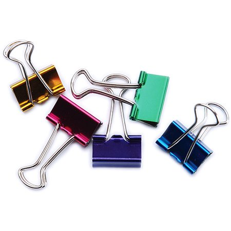 Baumgartens Small Binder Clips 3/4