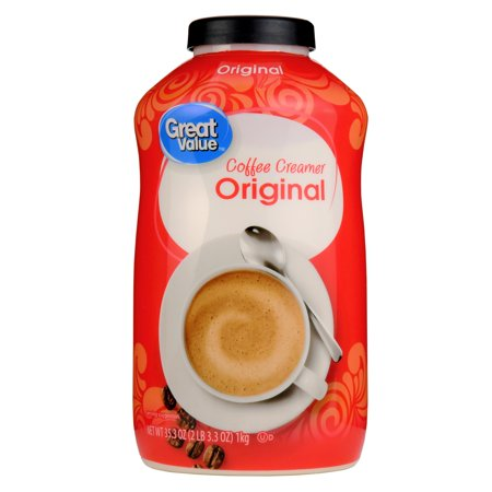 Great Value Coffee Creamer, Original, 35.3 oz (Best Powdered Coffee Creamer)