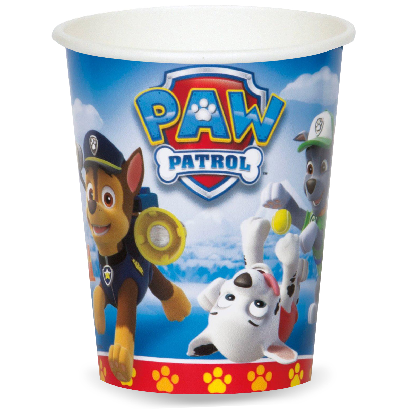 Paw Patrol Party Supplies 48 Pack Paper Cups