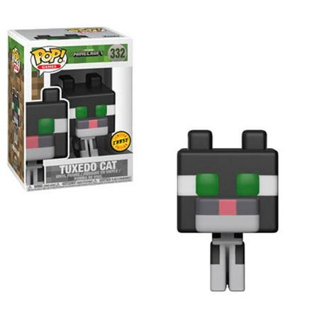 Funko POP! Games - Minecraft Vinyl Figure - TUXEDO CAT *Chase*