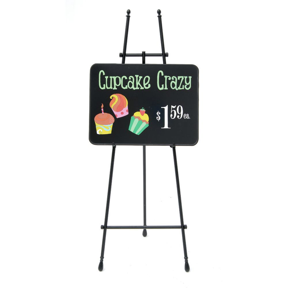 "Aarco Chalkboard Size: 1'6"" H x 2' W Radius Design Neon Wall Mounted"
