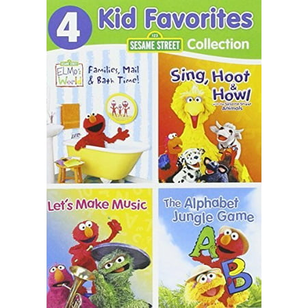 4 Kid Favorites: Sesame Street (DVD) (Sesame Street Vampire Laugh)