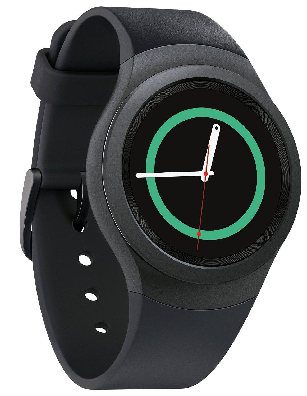 d99886ab671 SAMSUNG Gear S2 Smartwatch Dark Gray - SM-R7200ZKAXAR - Walmart.com