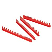 Ernst Manufacturing 6014 Red 40 Tool Space Saver Wrench Rail Kit