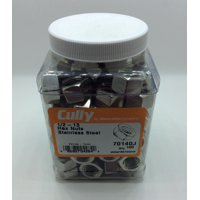 Cully 70140J 1/2-13 18-8 SS HEX NUT (100-Pack)