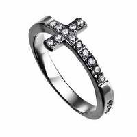 Ring-Sideways Cross-No Weapon-Sz  6