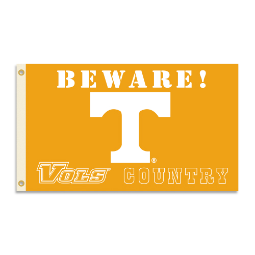 Bsi Products Inc Tennessee Volunteers Flag with Grommets - Country Flag with Grommets