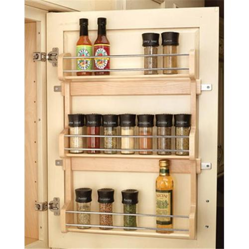 Rev-A-Shelf RS4SR. 21 15. 63 inch Door Mount Spice Rack