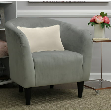 Mainstays Microfiber Tub Accent Chair