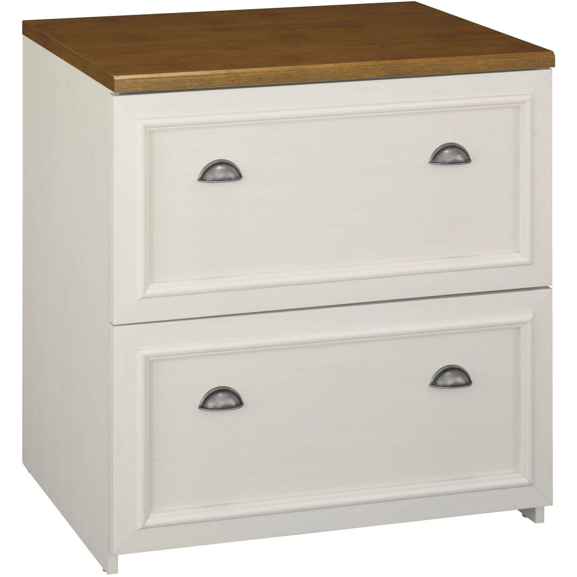 bush fairview collection lshaped desk hutch file cabinet antique white quick view bisley two drawer steel home or office filing