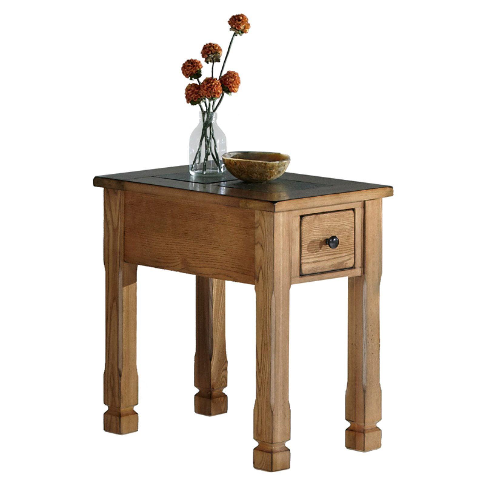 Progressive Furniture Rustic Ridge Chairside Table