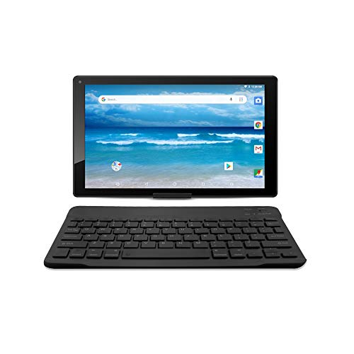 "10.1"" Android 8.1 Oreo HD Tablet by Azpen Google Certified and Bluetooth Keyboard Sleeve and Stand (Black)"