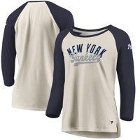 6c6217df1 Product Image New York Yankees Fanatics Branded Women's Heritage Open  Raglan Tri-Blend 3/4-