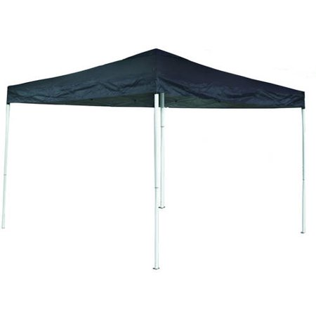 (ALEKO 10' x 13' Oxford Fabric Iron Foldable Gazebo Canopy for Outdoor Events, Blue)
