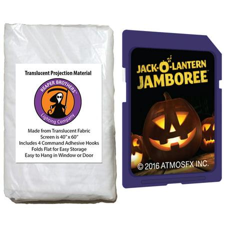 AtmosfearFX Jack-O-Lantern Jamboree Halloween SD Card + Reaper Bros? 60