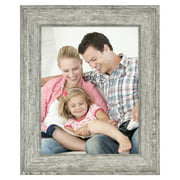 "Mainstays 5"" x 7"" Tabletop Picture Frame, Rustic Gray"
