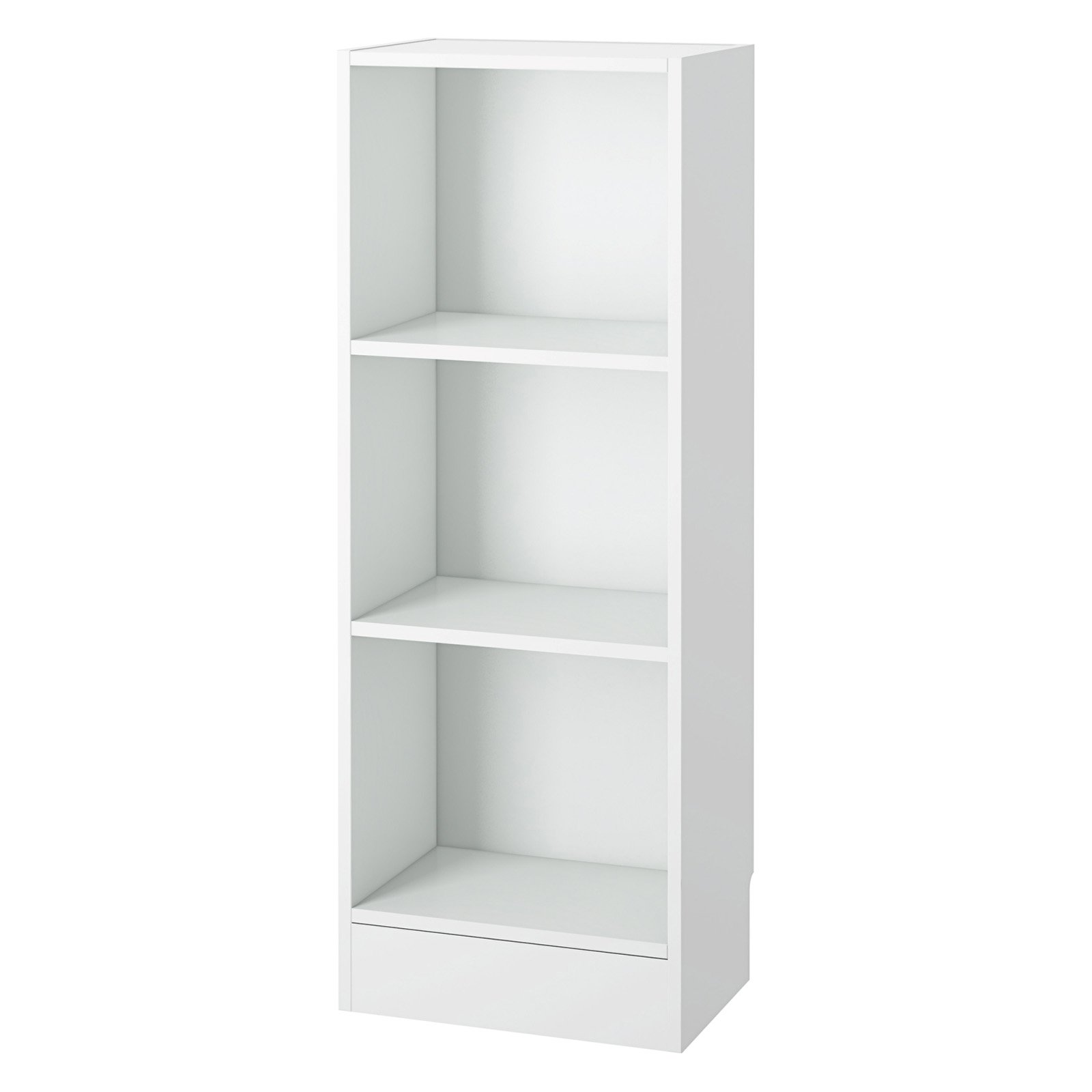 Preferred Element Short Narrow 3-Shelf Bookcase - Walmart.com KJ61
