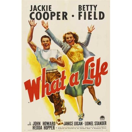 Posterazzi MOVCB39714 What a Life Movie Poster - 27 x 40 in. - image 1 of 1