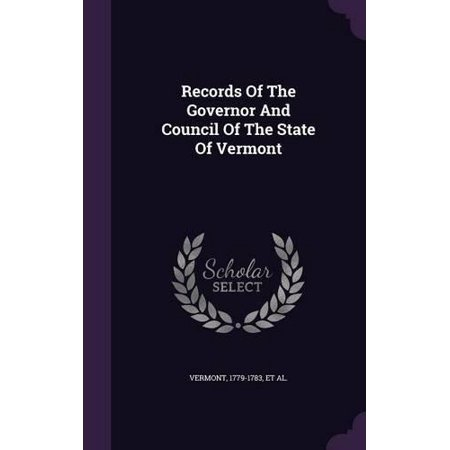 Records of the Governor and Council of the State of Vermont - image 1 of 1