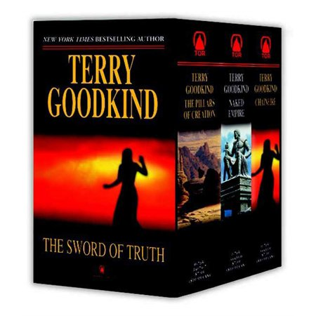 Sword of Truth, Boxed Set III, Books 7-9 : The Pillars of Creation, Naked Empire,