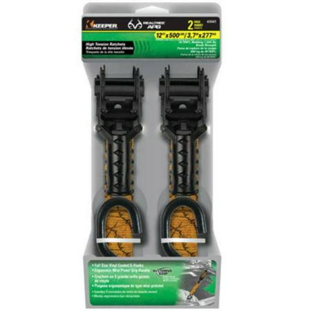 12' Supply Arm - Keeper 43561 Mini Pistol Grip Ratchet Tie Down, 12\' x 1