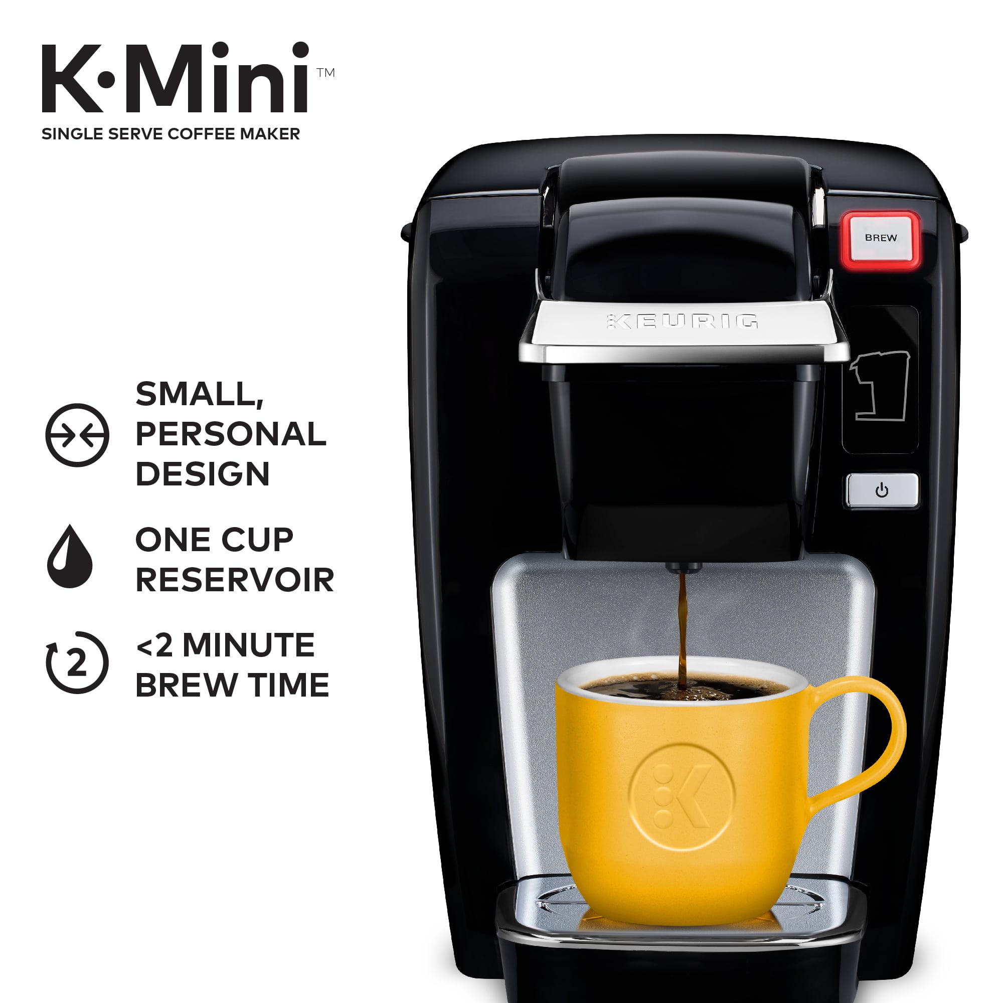 Keurig K Mini K15 Single Serve K Cup Pod Coffee Maker Black
