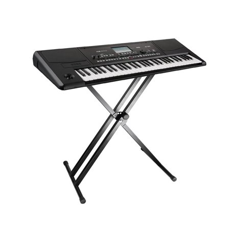 PrimeCables Double X Keyboard Stand Heavy Duty Classic Music Musical Electronic Piano Stands - image 1 of 4