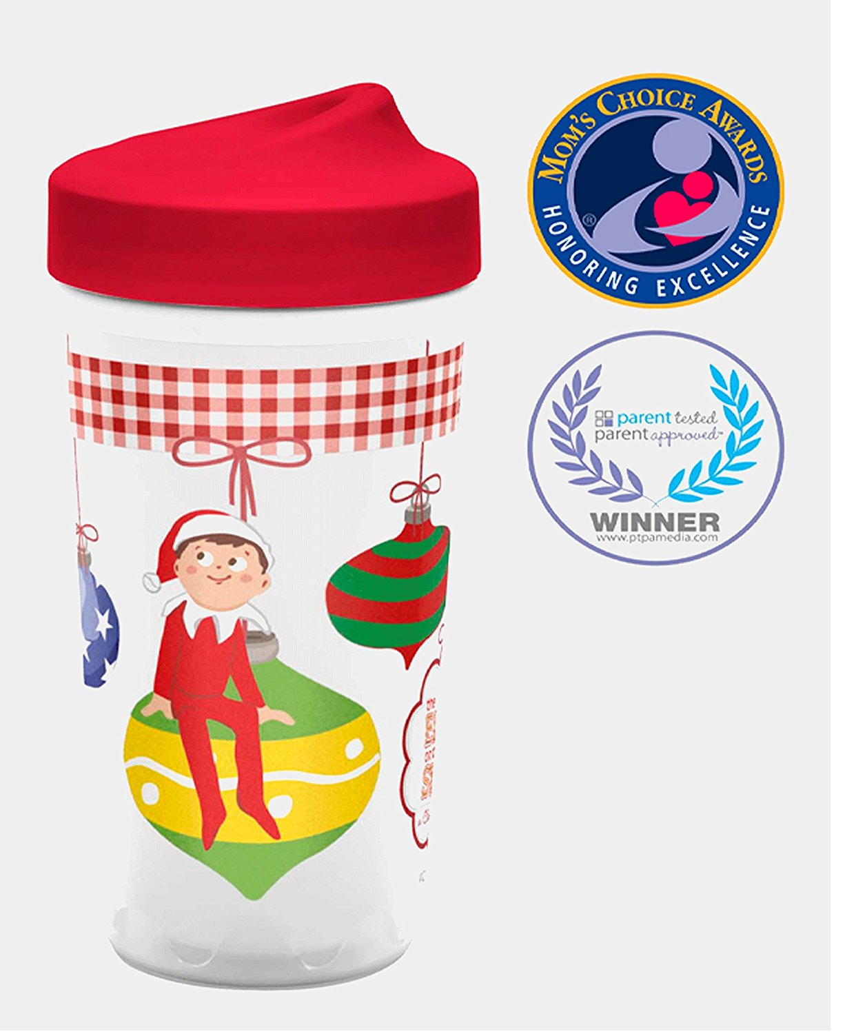 ! Designs Todderific Elf on the Shelf Stocking Stuffer Sippy Cup With Adjustable Flow Technology!, The... by ZAK
