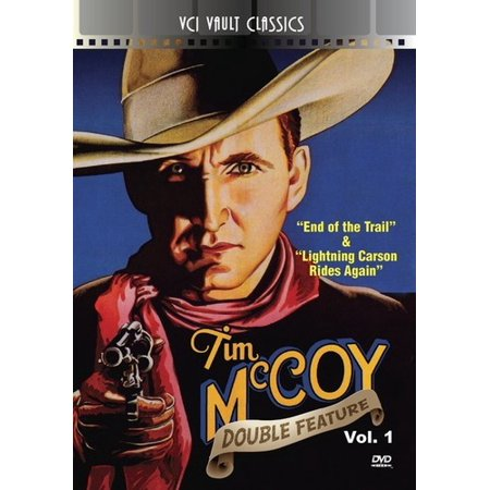 MOD-TIM MCCOY WESTERN DOUBLE FEATURE VOL 1 (1932-1938) NON-RETURNABLE (DVD)