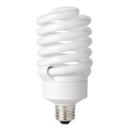 E26 Compact Fluorescent Bulb (TCP 4894265K Single 42 Watt Frosted T4 Medium (E26) Compact Fluorescent Bulb - 6500K)