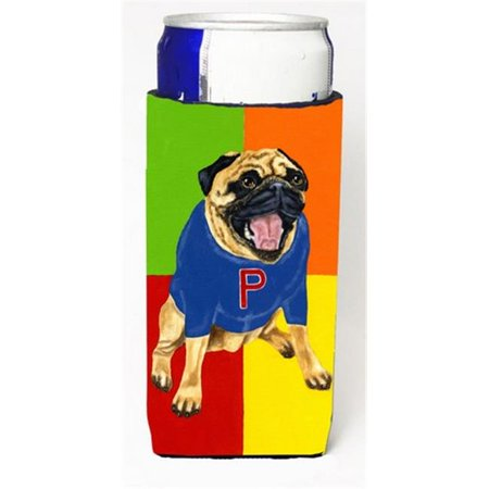 Go Team Varsity Pug Michelob Ultra Can coolers for Slim Cans - image 1 de 1