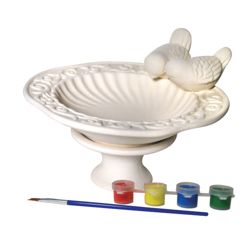 Sassafras Paint Your Own Bird Bath