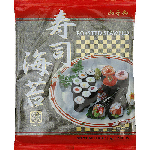 Yamamotoyama Roasted Seaweed, 0.88 oz, (Pack of 12)