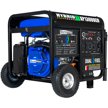 Duromax XP13000EH, 13000 Watt Dual Fuel Electric Start, Portable Generator ()