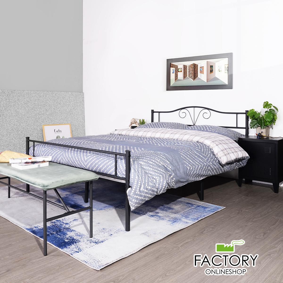 Image of: Geniqua Twin Full Queen Size Metal Bed Frame Platform Headboard Foundation Bedroom Walmart Com Walmart Com