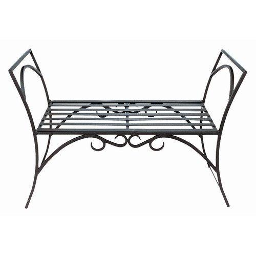 Charmant August Grove Arona Wrought Iron Garden Bench
