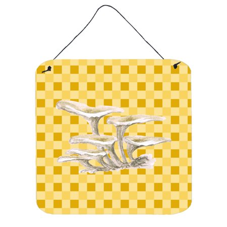 Oyster Mushrooms on Basketweave Wall or Door Hanging Prints