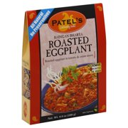 Patel's All Natural Celebrating India Baingan Bharta, Roasted Eggplant, 9.9 Oz