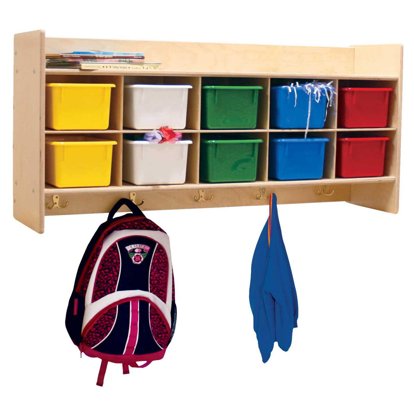 Wood Designs Contender Wall Locker & Storage