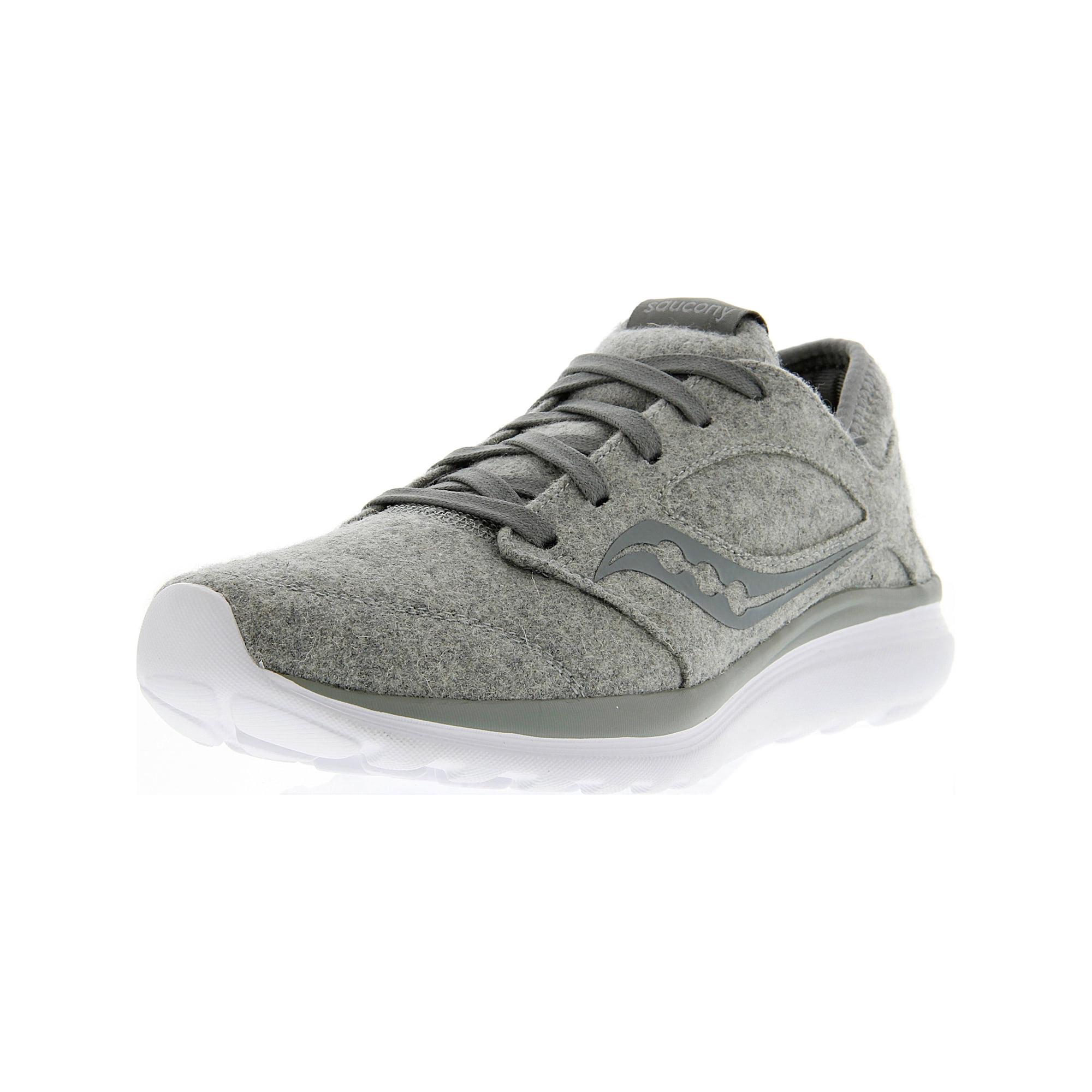 52b5a18cad Saucony Women's Kineta Relay Wool Grey Ankle-High Running Shoe - 8M ...