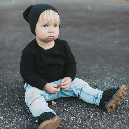 Toddler Kids Baby Boy Girl Infant Cotton Soft Hip Hop Hat Cap Beanie](Car Hop Hat)