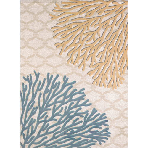 United Weavers of America Modern Texture Coral Reef Harvest Area Rug